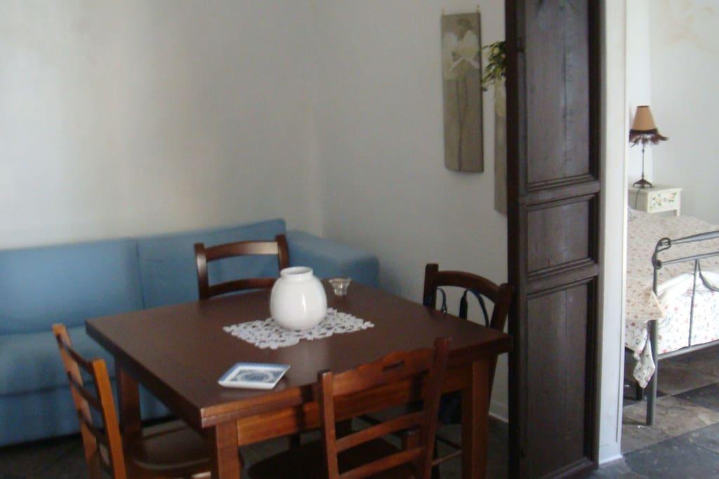 Modica historic center rent home