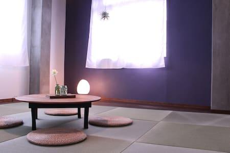 Near Kofu station Japanese-Style Room ゲストハウスで和室!?