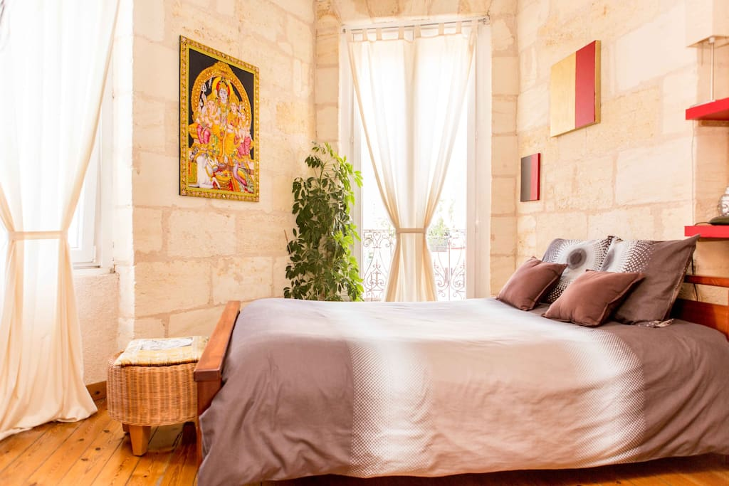 Om sweet home b b chambre double chambres d 39 h tes for Chambre d hote bordeaux