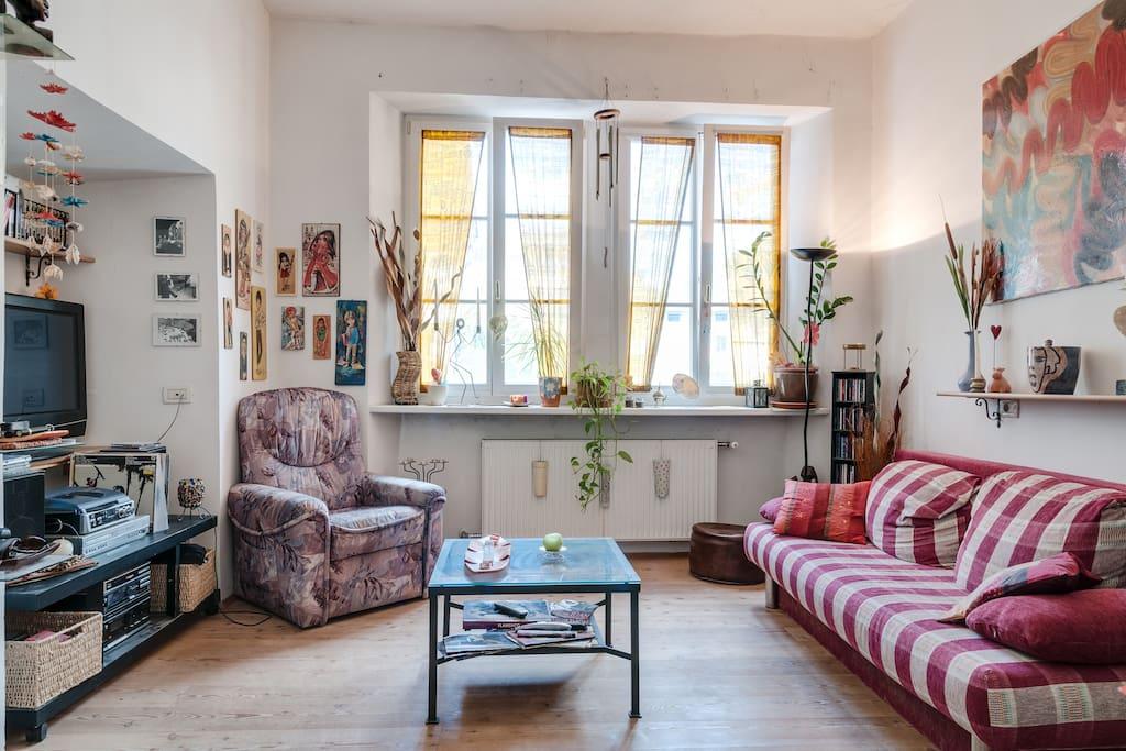 Intero appartamento nel centro storico di bolzano for Appartamenti in affitto arredati a bolzano
