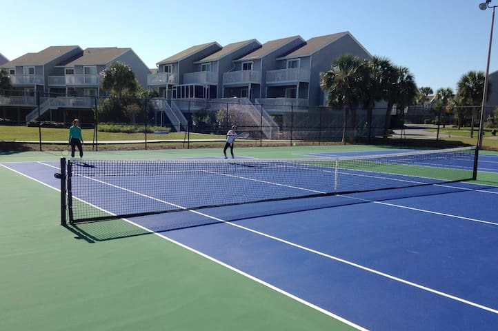 Lighted Tennis Courts (the only courts on the cape)