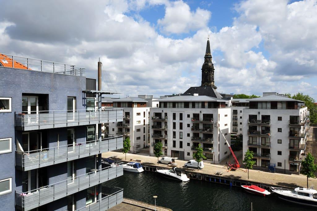 Christianshavn by the canal wohnungen zur miete in for Kopenhagen unterkunft