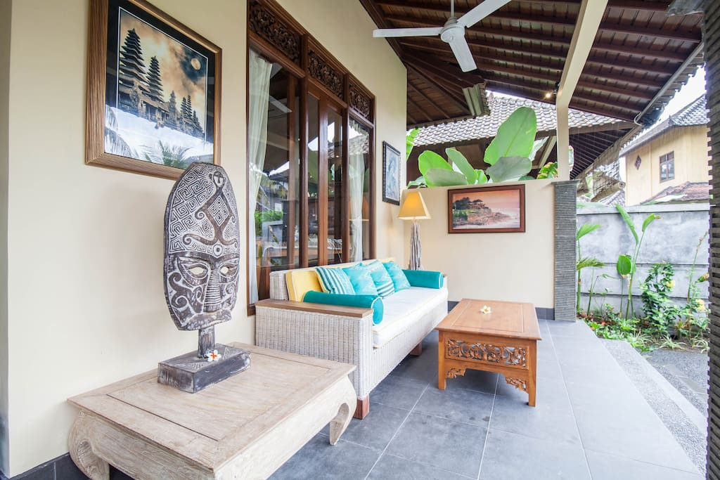 Furnished with Balinese and Indonesian Collectibles