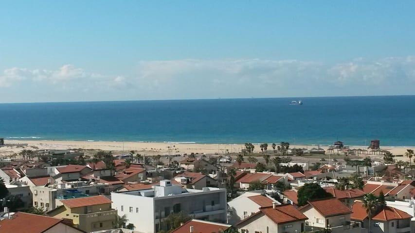 new apartment-3 room with sea views - Ashdod - Apartemen