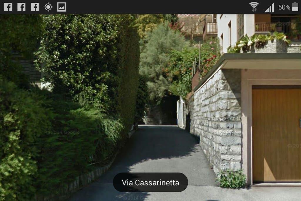 Entry Home / Entrata Casa  ( Noi siamo qui )