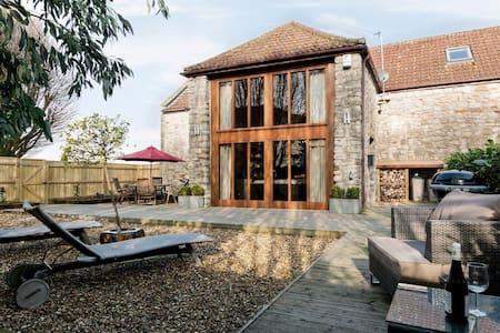 Luxury Barn with log burner - Saltford - Rumah