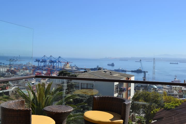 REFINED LOFT-SIGHT VALPARAÍSOs BAY - Valparaíso - Appartamento