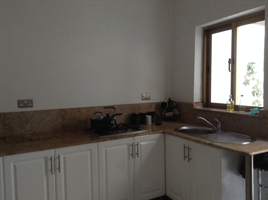 Kitchen - ideal for those looking to cook!