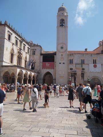 The cental square - Luža square