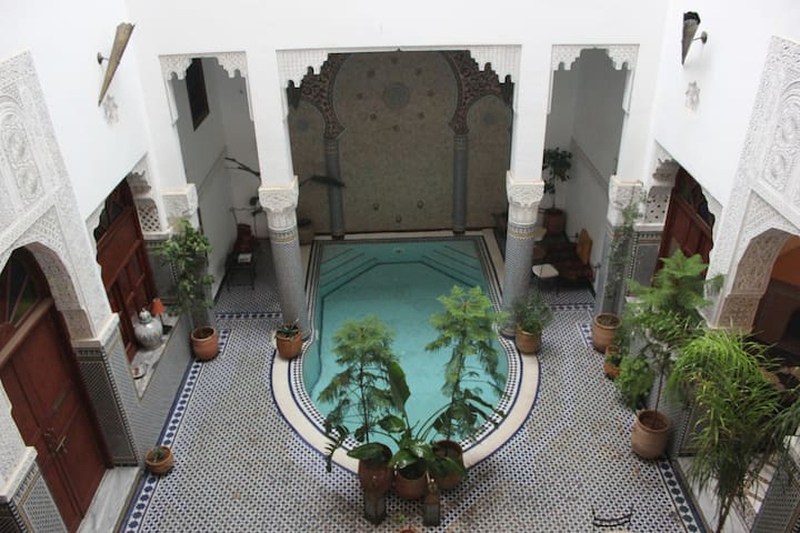 Rooms Vanille - Riad Jamaï - Fes - Bed & Breakfast