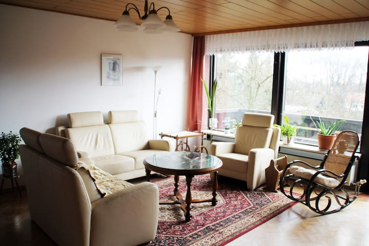 Spacious appartement with balcony - Bischberg - Apartamento