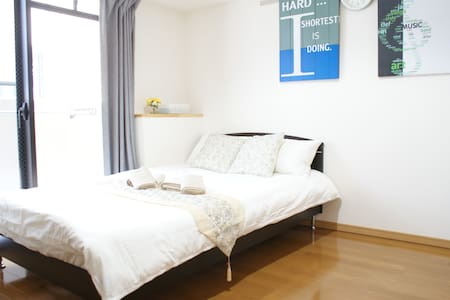 SALE!!No Additional Fee!!2mins ro Osaka Sta+WIFI - Apartament