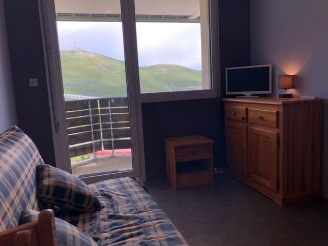 Appartement 2 pièces cabine 5 couchages LA PIERRE ST MARTIN
