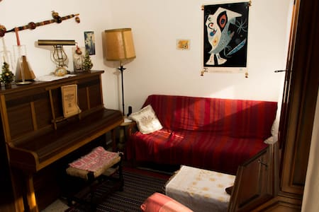 Chambre 2 lits simples Cubellas - Appartement