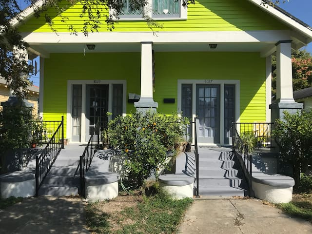 Bright and Spacious Bayou St John Shotgun Mid City
