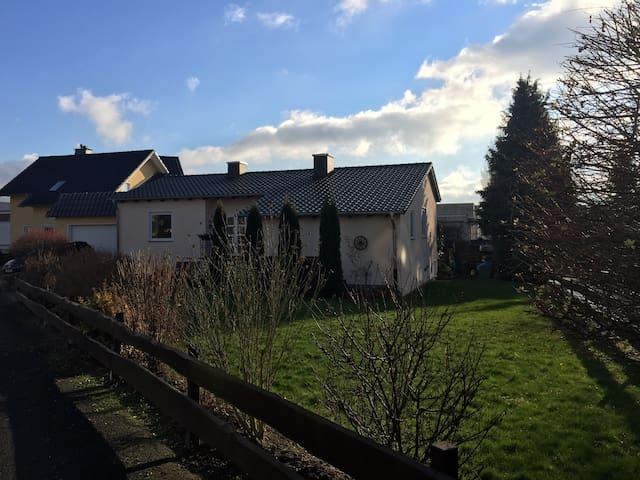 Haus am Warteberg einzelne Zimmer - Vellmar - Hus