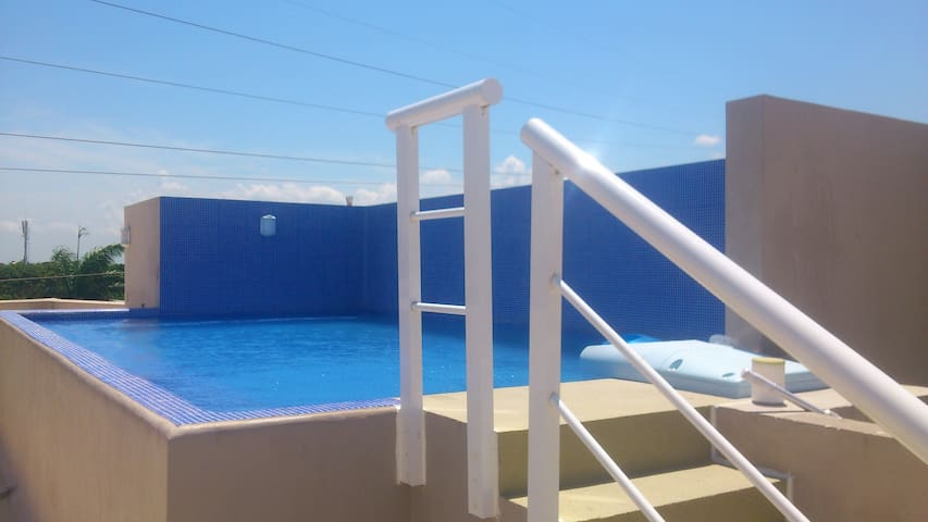 Nice studio 20 min walking to the beach and 5th av - Playa del Carmen - Appartement
