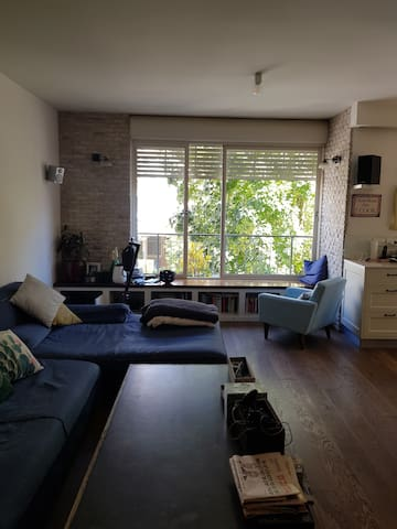 Trendy apartment 3BR near the park with parking