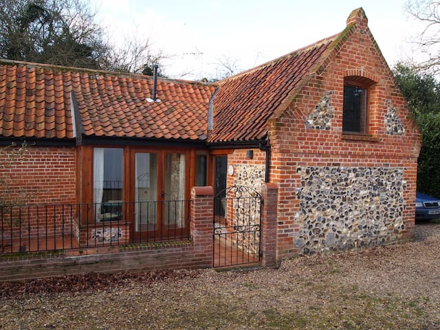 Charming converted barn, Norfolk.