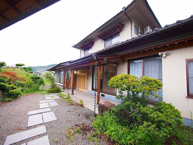Limited for 1 group only. A calm Japanese house.