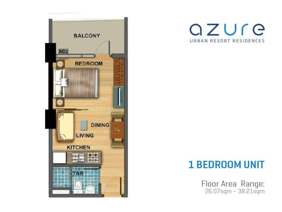 Condo Unit (for illustration purposes only)