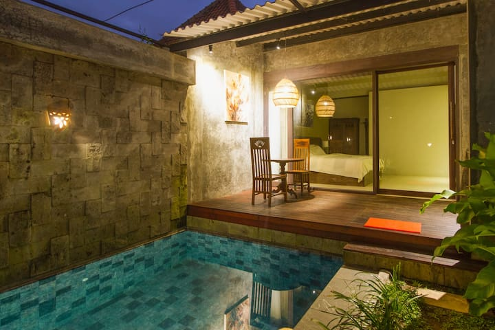 Modern and Stylish 1BR Villa with Private Pool