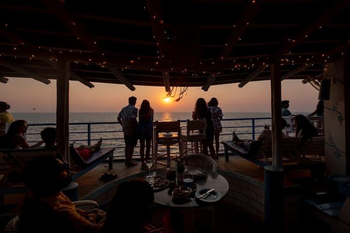 Purple Martini Party Room 2| Sea View  | Mykonos