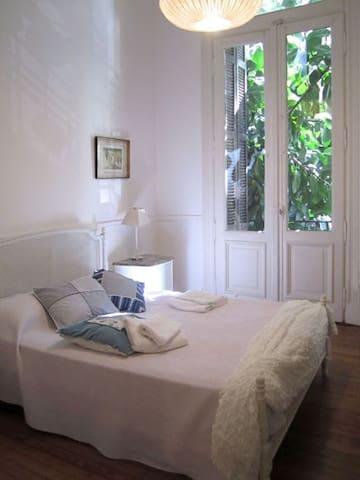 sunny master bedroom