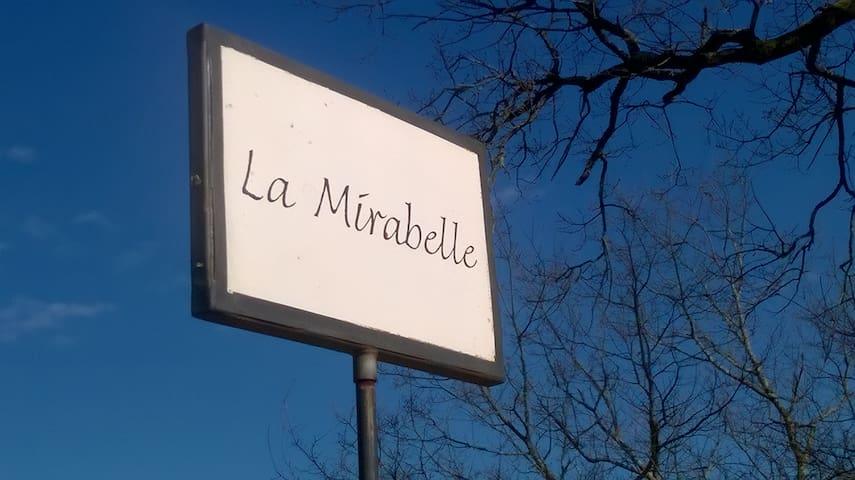 """chambres d'hotes / gite 1 à 8 pers """"La Mirabelle"""" - Montazeau - ที่พักพร้อมอาหารเช้า"""