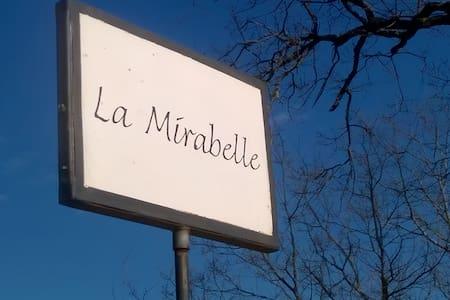 """chambres d'hotes / gite 1 à 8 pers """"La Mirabelle"""" - Montazeau"""