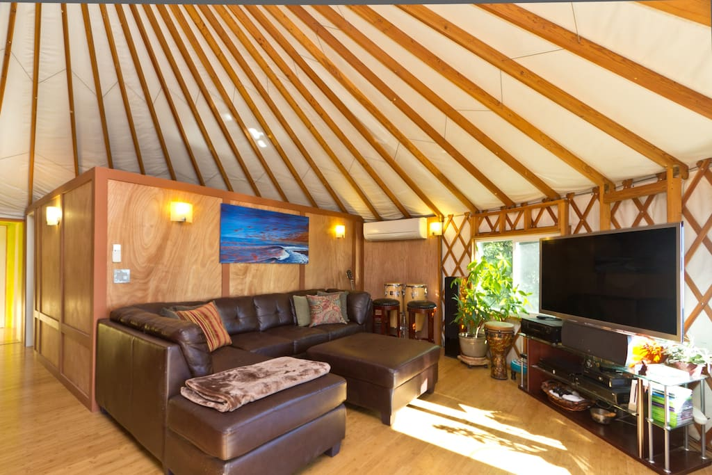 Luxury Yurt Panoramic Ocean View Yurts For Rent In