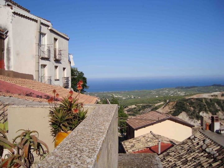 Traditional  house in  Badolato,  Calabria