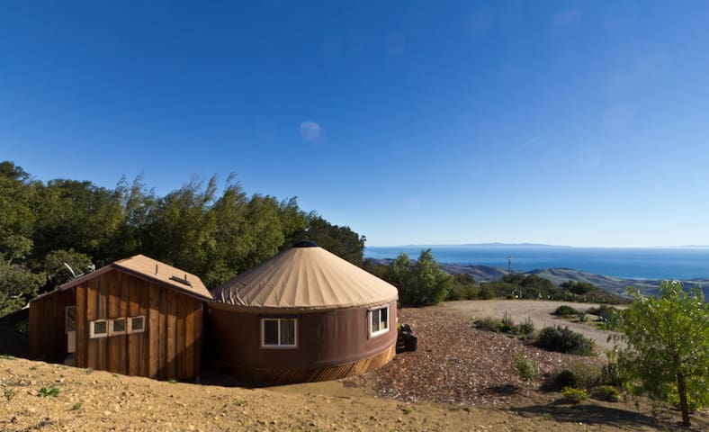 Luxury Yurt & Panoramic Ocean View - Santa Barbara - Iurta