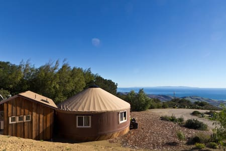Luxury Yurt & Panoramic Ocean View - Santa Barbara
