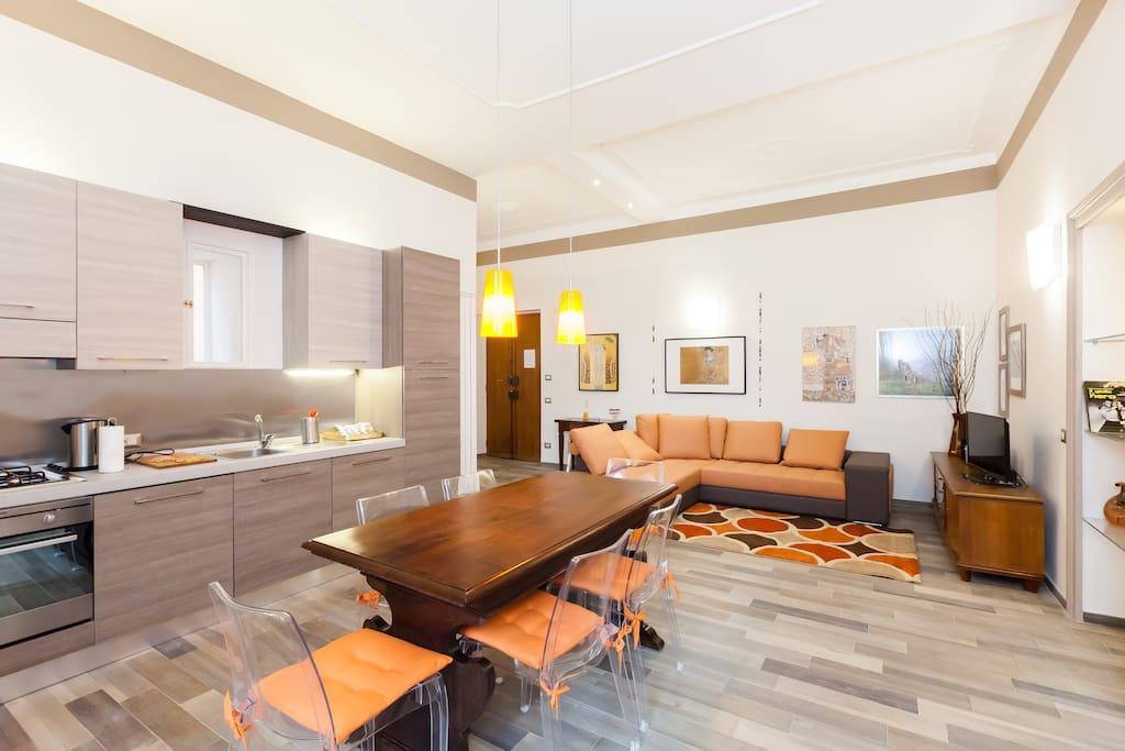 Roma centro domus aureliana appartamenti in affitto a for Appartamenti centro roma
