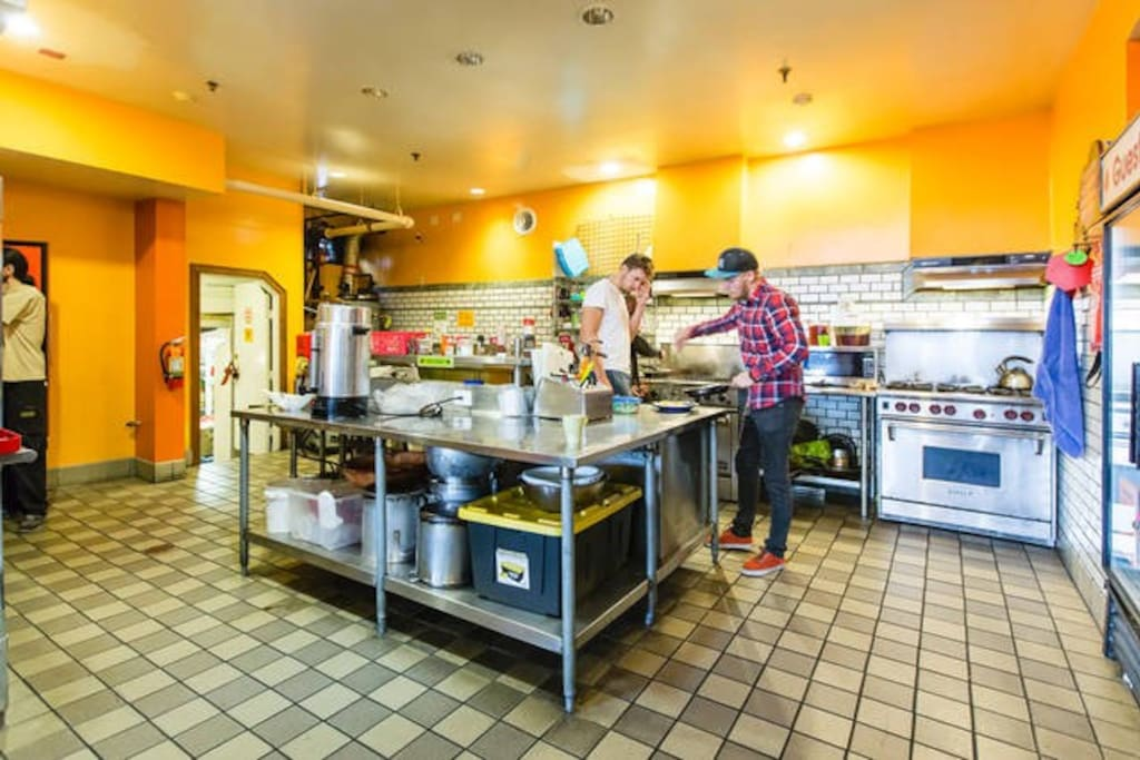 Prepare a meal in our fully equipped kitchen