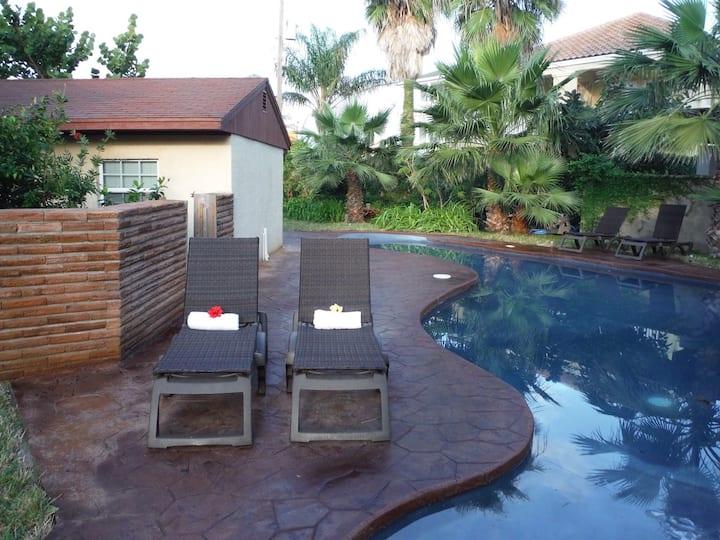 Ground Floor-Pool, Hot Tub, Playground-Sleeps10-12