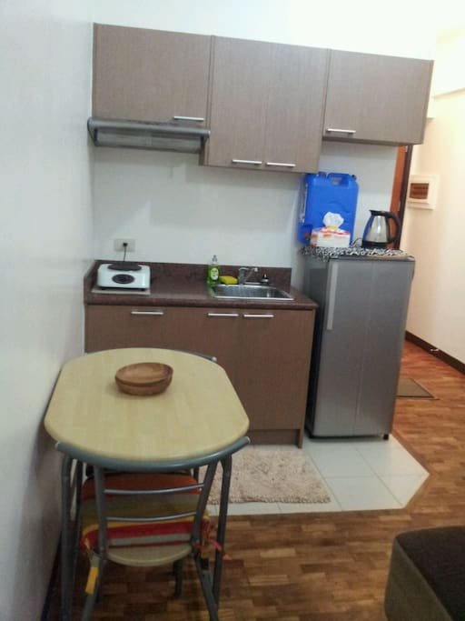 Electric stove, water kettle and refrigerator