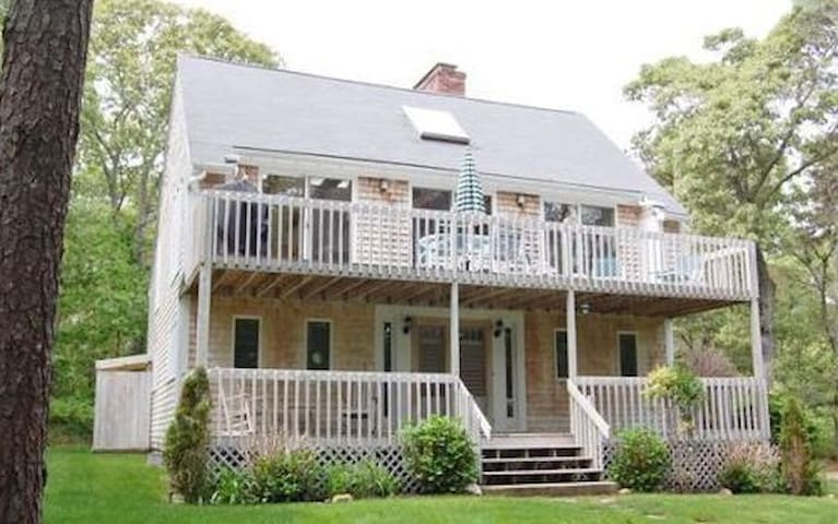 Beautiful, Airy Beach House with Central Air - Vineyard Haven - House