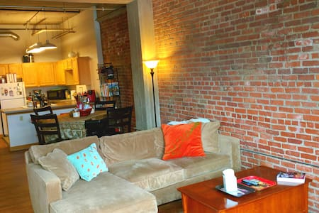 Downtown KC, MO Loft 2 bed/2 bath - Kansas City - Loft