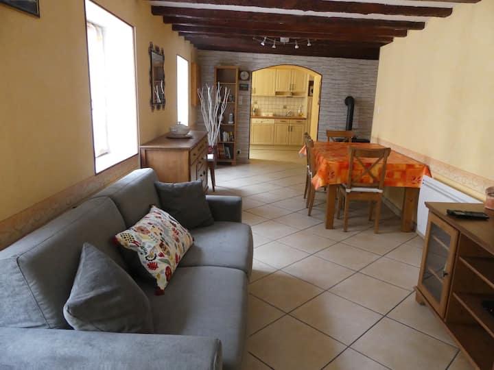 Appartement de  50 m2, chaleureux et confortable