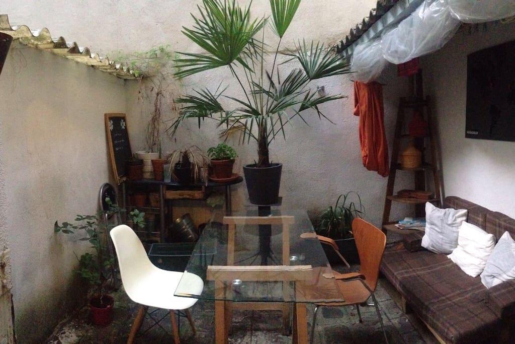 Salon d'extérieur