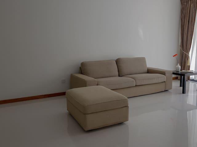Comfortable 4 seater sofa