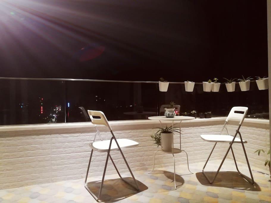 您的温馨浪漫私人阳台