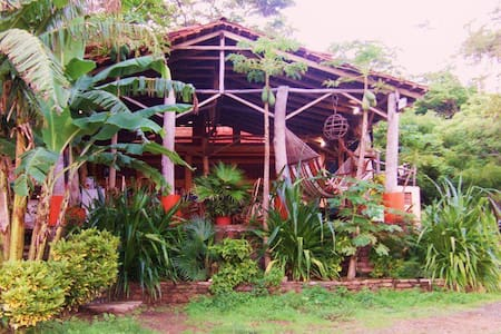 Quiet beachfront at Casa Pelon - SAN Juan del sur - Bed & Breakfast