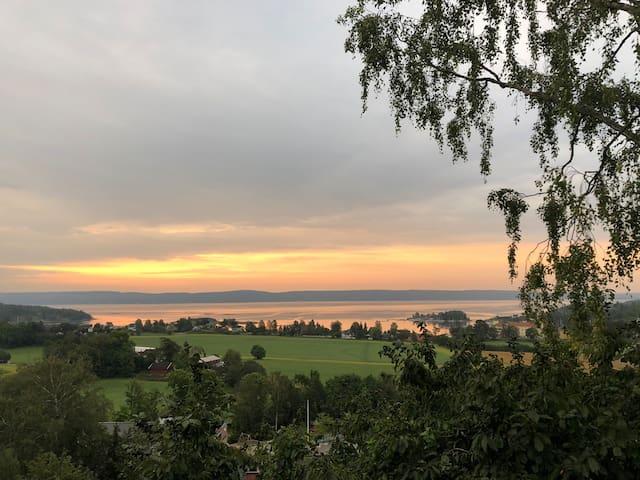 Hus med deilig utsikt, 30 min fra Oslo