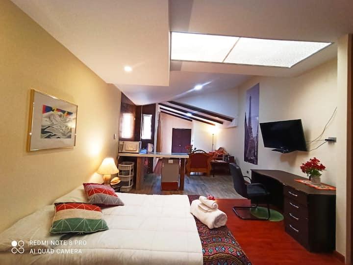 Amplio Apartamento Loft en Zona Residencial