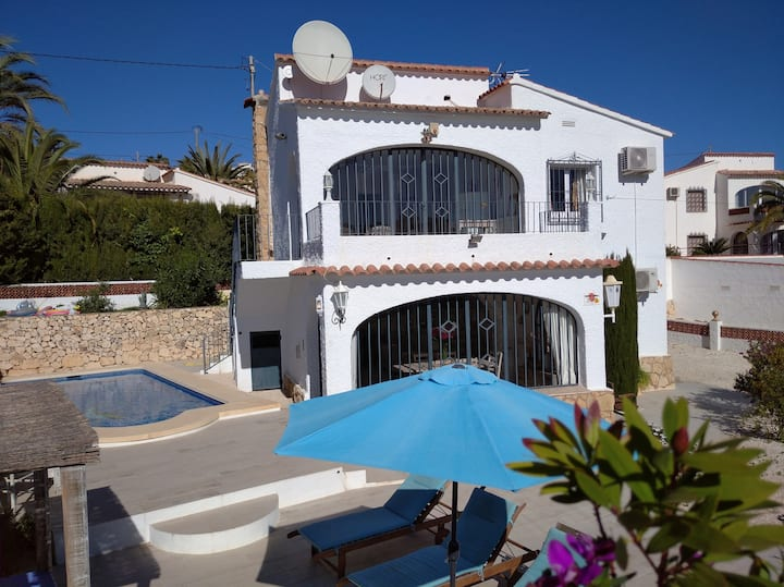 Villa in Calpe,pool,4p,airco,wifi