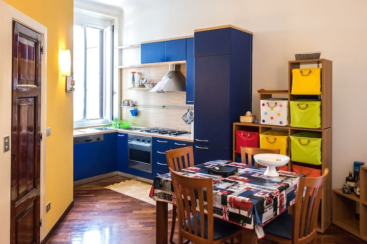 @Navigli - Porta Genova - Casa Barone - Cosy Flat