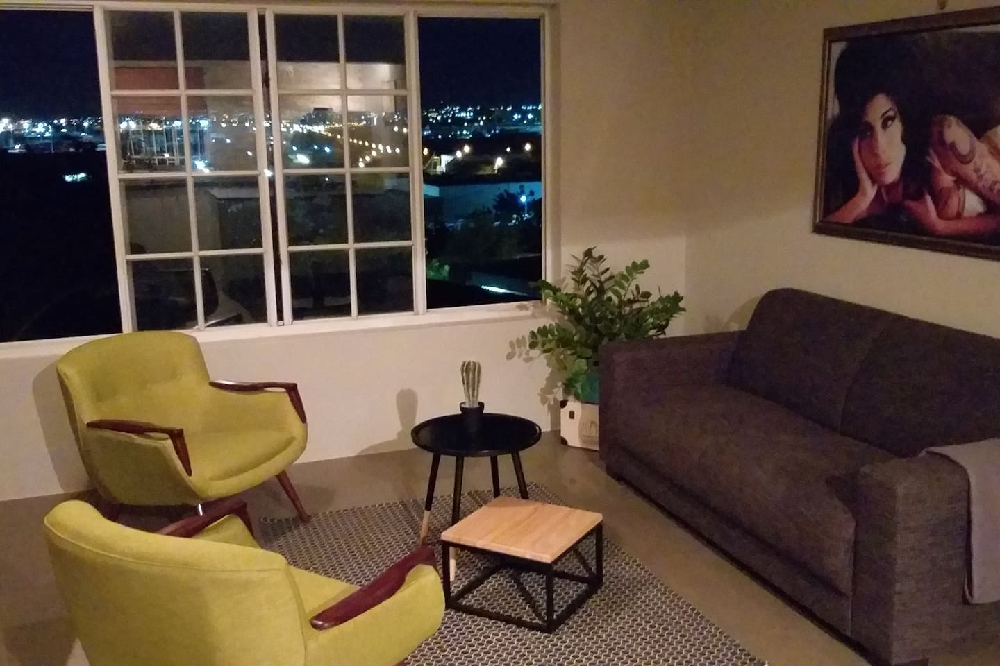Cozy living space with a fantastic view